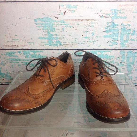 a1b877ef6b7 Steve Madden Leather Wingtip Oxford Men's Ethin2 8